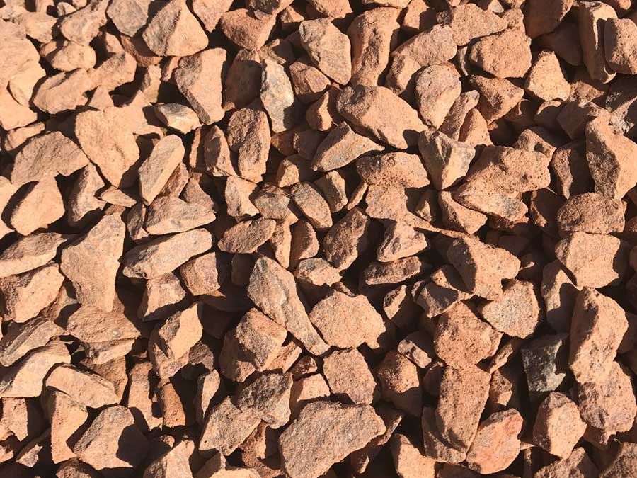 Terracotta Chippings 10mm to 20mm